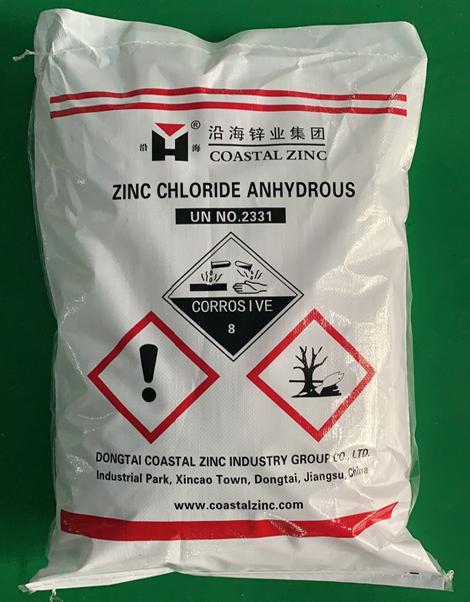 anhydrous zinc chloride